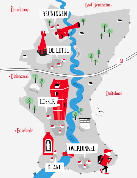 Dorpen gemeente Losser